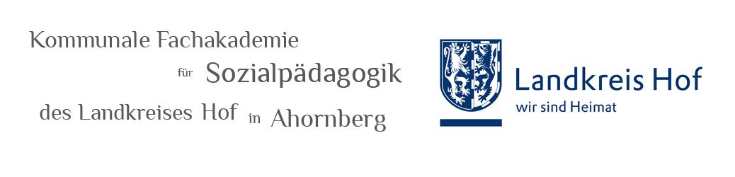 Fachakademie für Sozialpädagogik Ahornberg