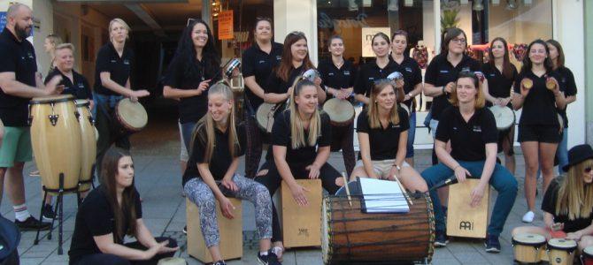 Percussion-Group live auf dem Stadt- und Bürgerfest in Hof